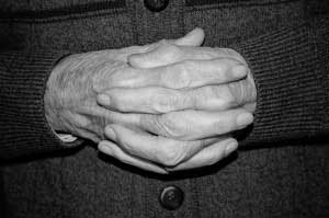 Hands of Elderly Person - Attorneys in Phoenix, AZ